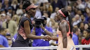 Sloane Stephens sobre Venus Williams por 2 sets a 1!